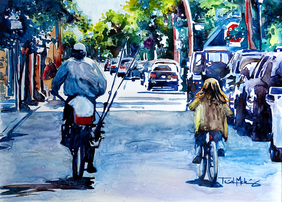 Charleston Painting - Quality Time by Trish McKinney