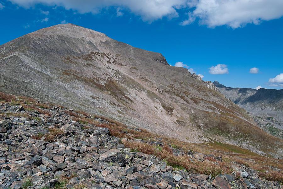 Quandary Peak Photograph - Quandary Peak by Cascade Colors