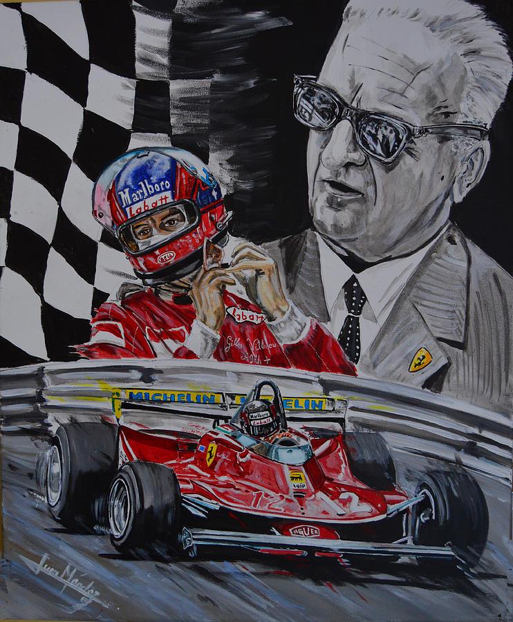 Gilles Painting - quando Gilles by Juan Mendez