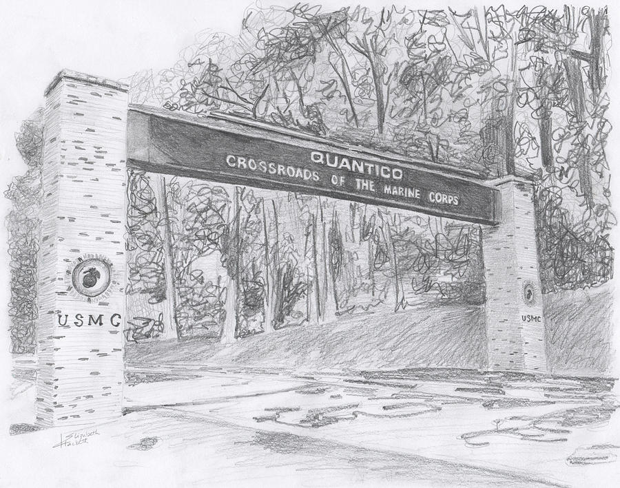 Quantico Welcome Graphite by Betsy Hackett