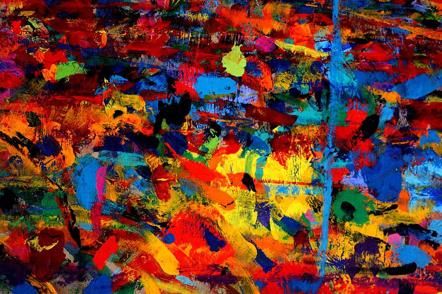 Abstract Painting - Quantum Leap by John  Nolan