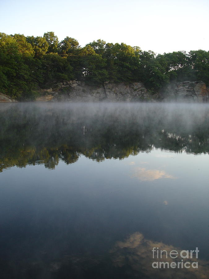 Landscape Photograph - Quarry Reflections by Chad Natti