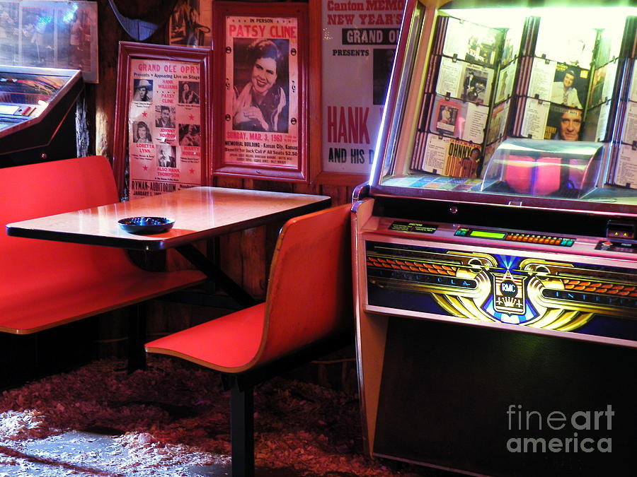 Jukebox Photograph - Quarters And Orders by Joe Jake Pratt