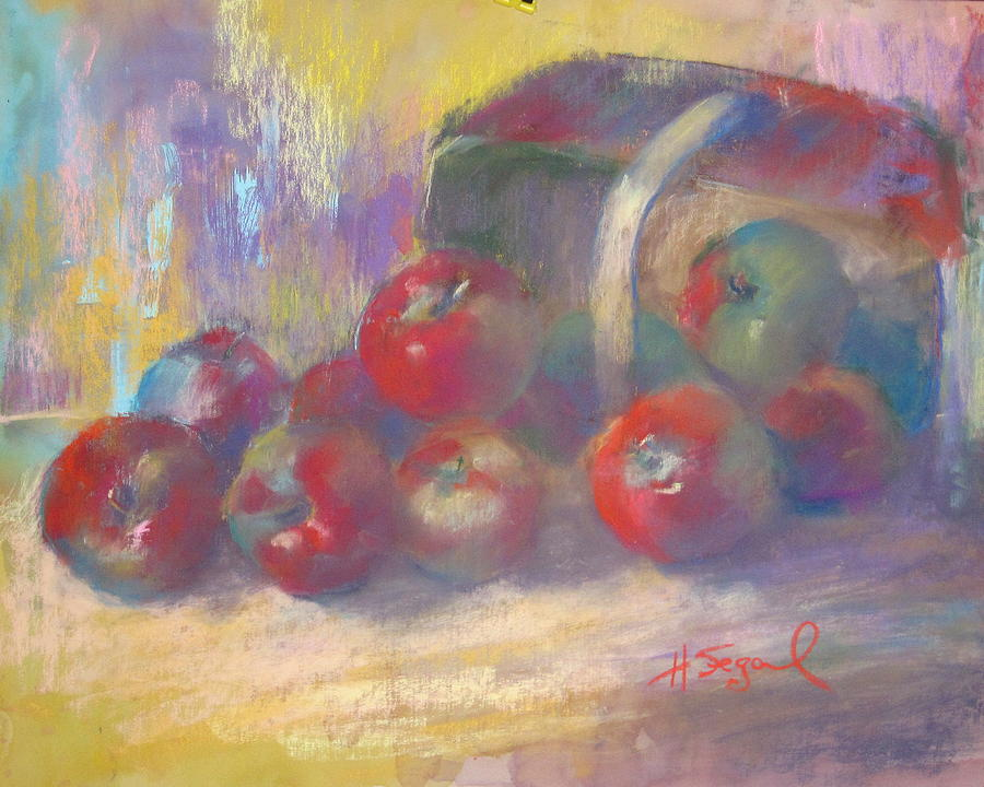 Still Life Painting - Quebec Apples 2009 by Harvey Segal