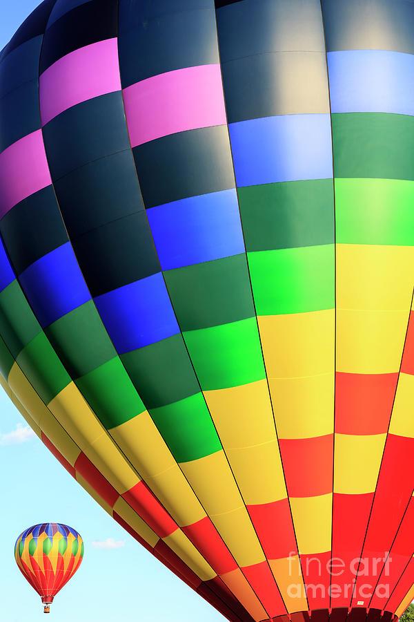 2016 Photograph - Quechee Vermont Hot Air Balloon Fest 2 by Edward Fielding