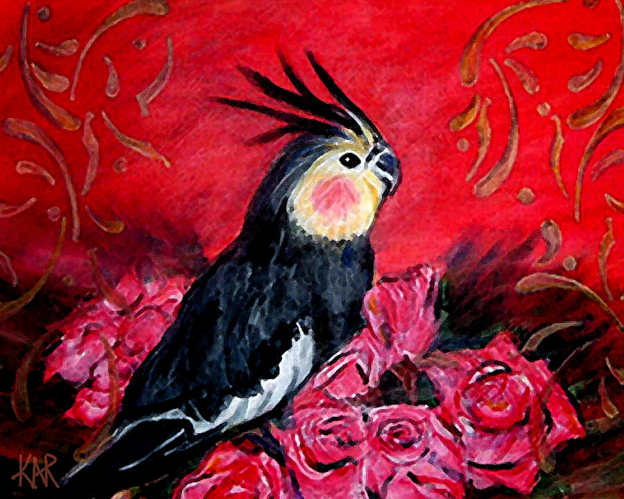 Pet Painting - Queen Gertie by Art by Kar