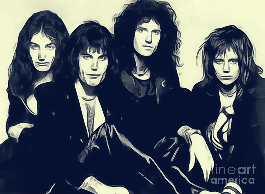 Queen Digital Art