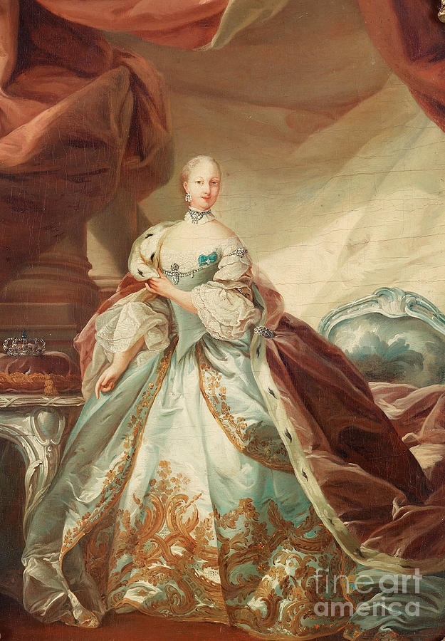 Queen Juliane Marie Of Denmark Painting by Celestial Images