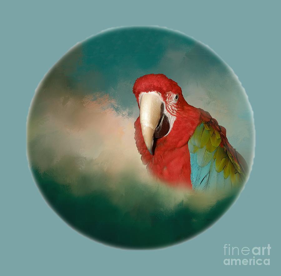 Bird Digital Art - Queen Of Her World by Victoria Harrington