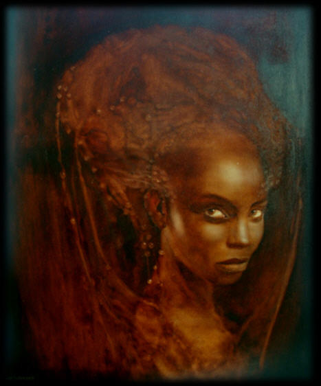Queen Of Sheba  Painting by Anne Worbes