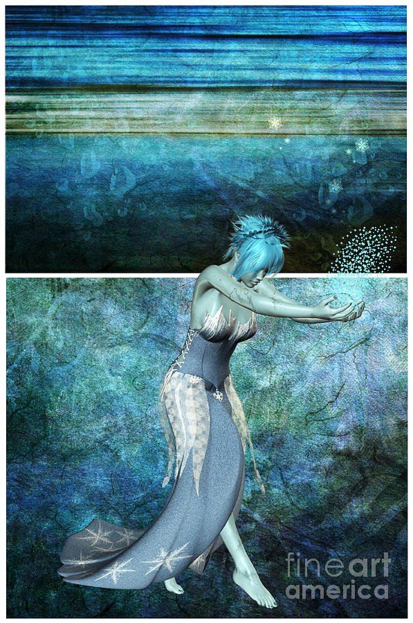 Queen Of The Sea Digital Art By Michelle Stevens