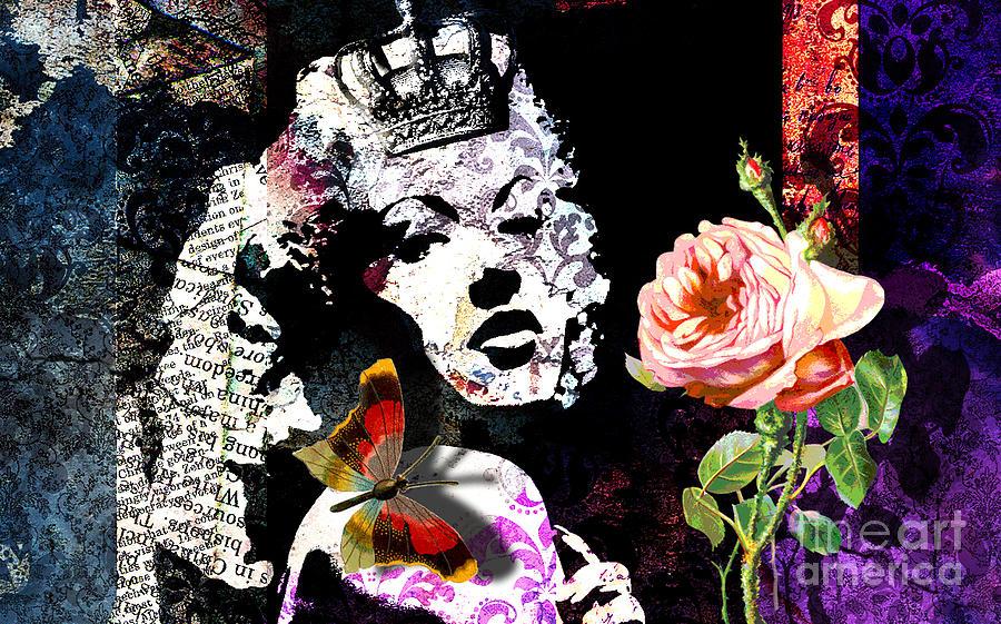 Queen Digital Art by Ramneek Narang