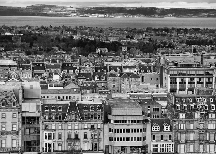 Edinburgh Photograph - Queen Street To The Forth by Adrian Pym