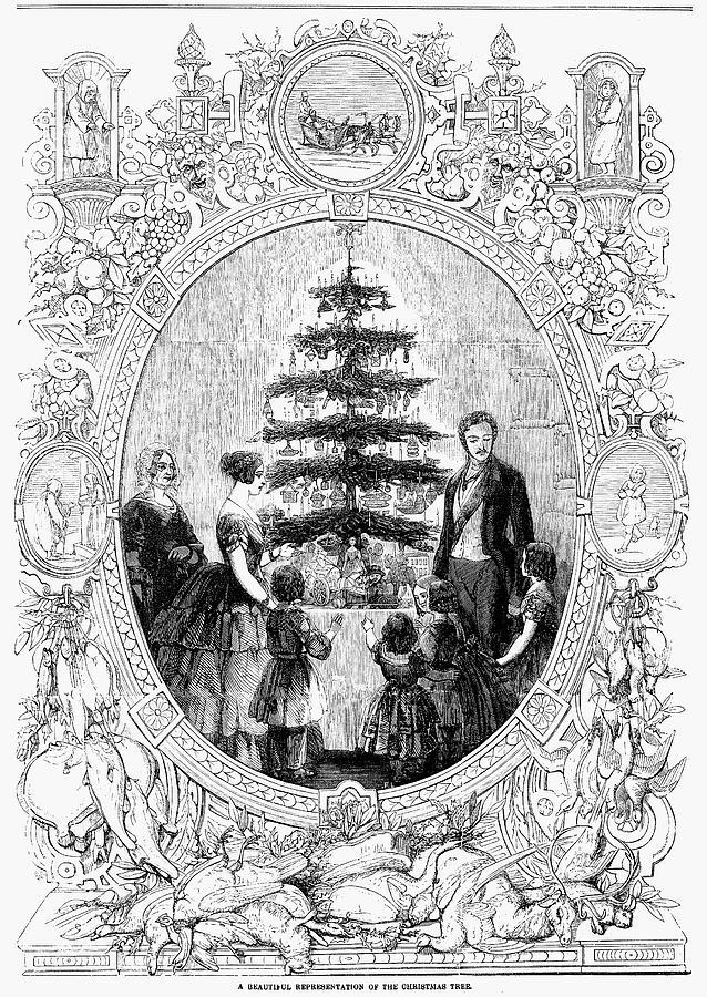 1852 Photograph - Queen Victoria, 1852 by Granger
