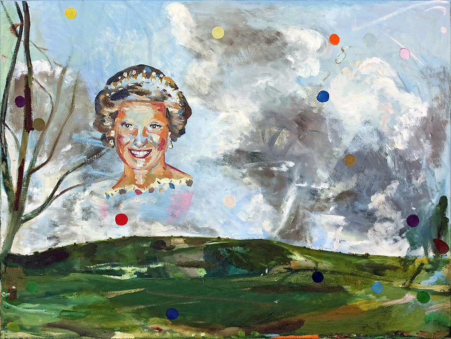 Landscape Painting - Queenish by Thomas Edetun