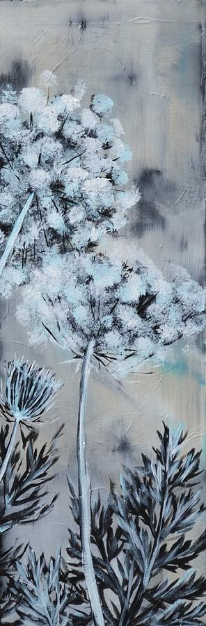 Queen Anne's Lace Painting - Queens Lace 2 by Holly Donohoe