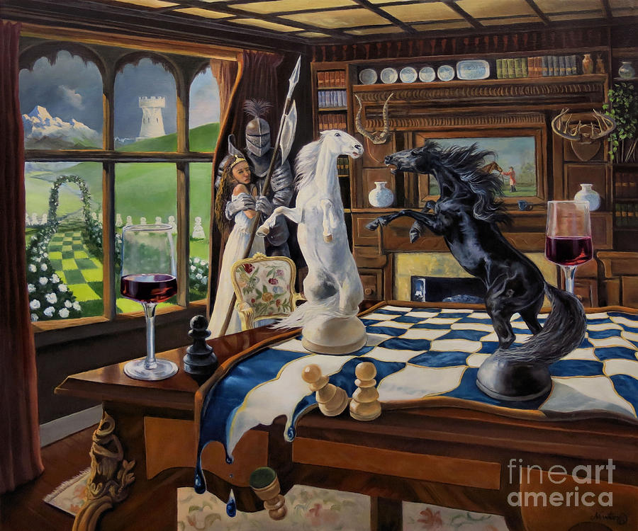 Still Life Painting - Queens Magic by Jeanne Newton Schoborg