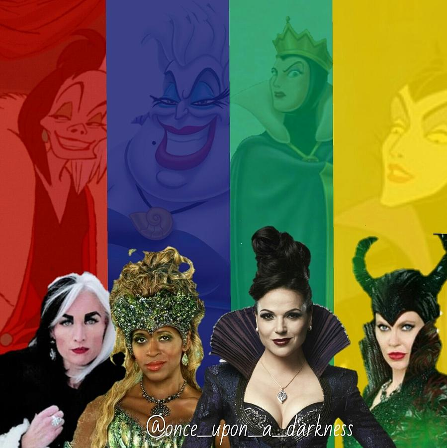 Ouat Photograph - Queens of darkness by Kay Klinkers