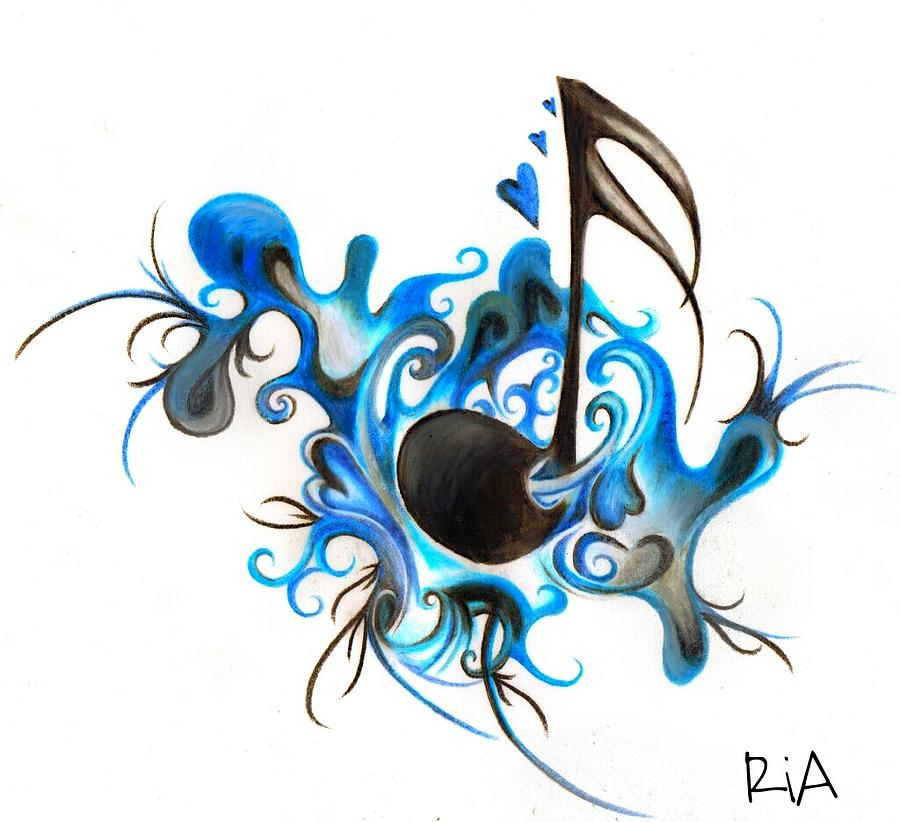 Music Photograph - Quenched by Music by Artist RiA