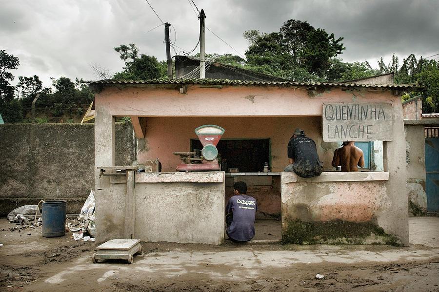 Brazil Photograph - Quentinha Lanche by Colleen Joy