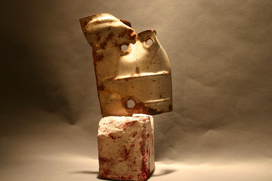 Metal Sculpture - Quicksand by Richard Heffron