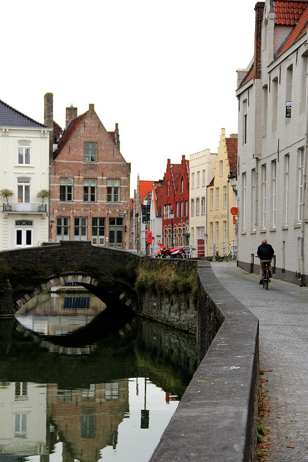 Europe Photograph - Quiet Afternoon In Bruges, Belgium by Sean Flynn