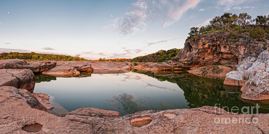 Pedernales Photograph - Quiet Contemplation At Pedernales Falls State Park - Johnson City Texas Hill Country  by Silvio Ligutti