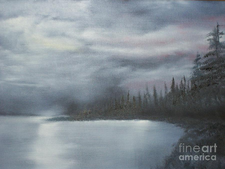Landscape Painting - Quiet Cove by Shawn Cooper