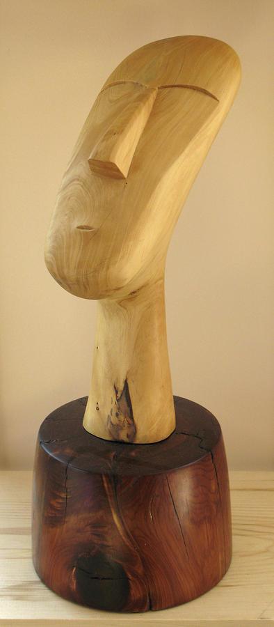 Quiet Sculpture - Quiet Man by Windy Dankoff
