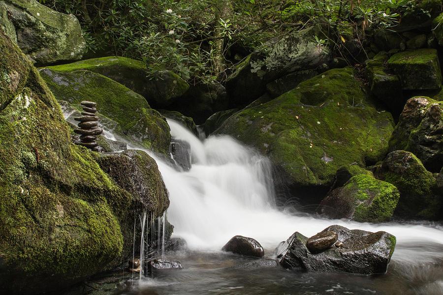 Rocks Photograph - Quiet Meditation  by Julie Andel
