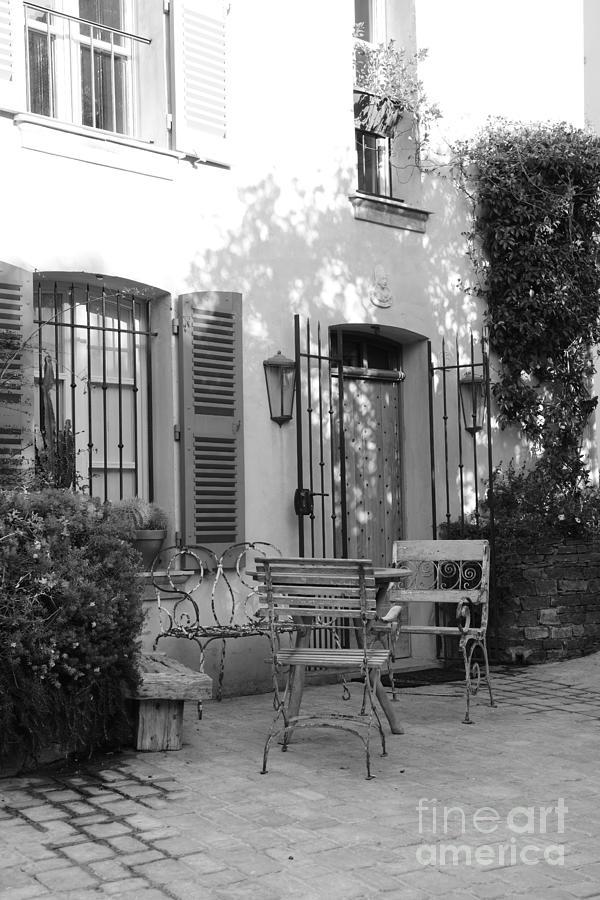 Saint-tropez Photograph - Quiet Moment  At Saint -  Tropez by Tom Vandenhende
