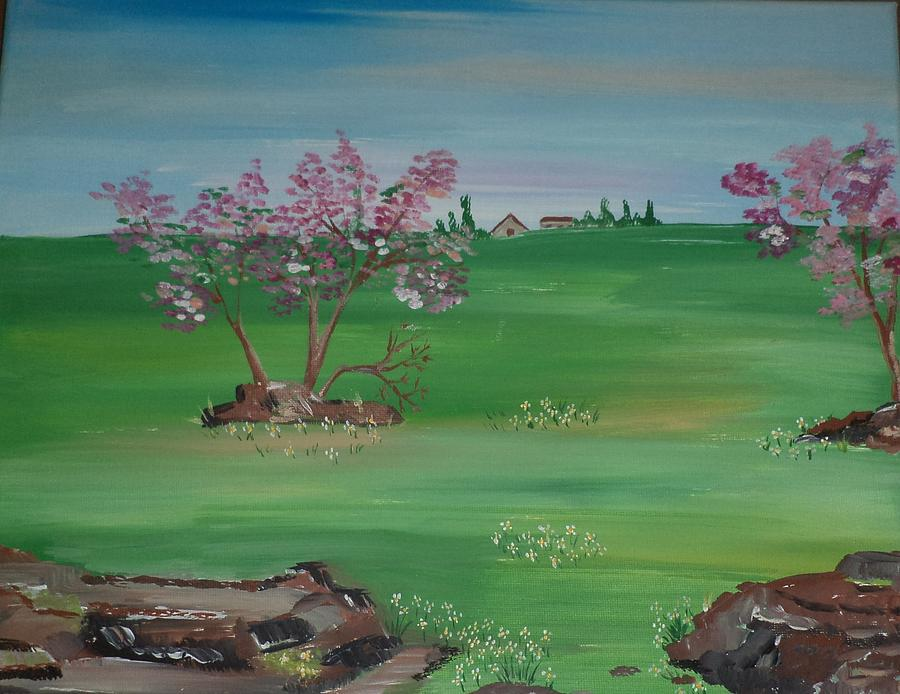 Acrylic Painting - Quiet Moment by Donald Northup