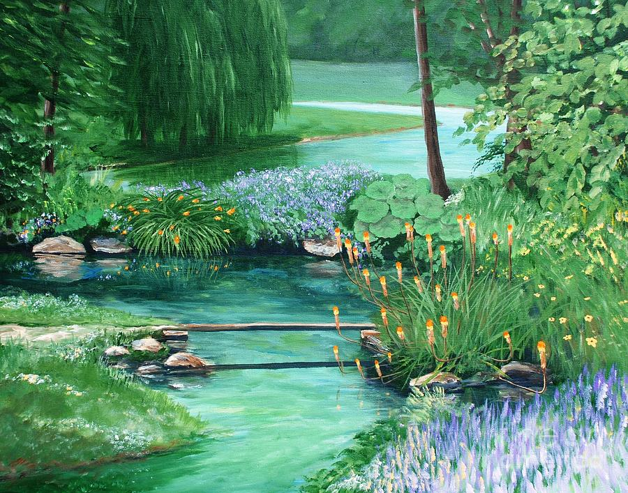 Quiet Stream by Keith Wilkie
