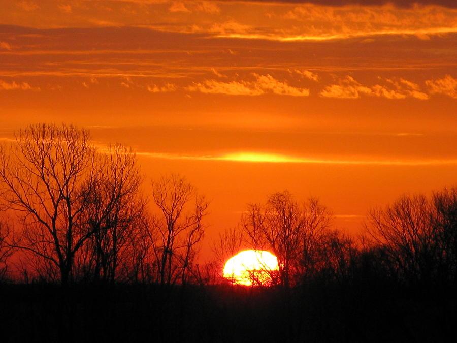 Sunrise Photograph - Quiet Sunrise by Martie DAndrea