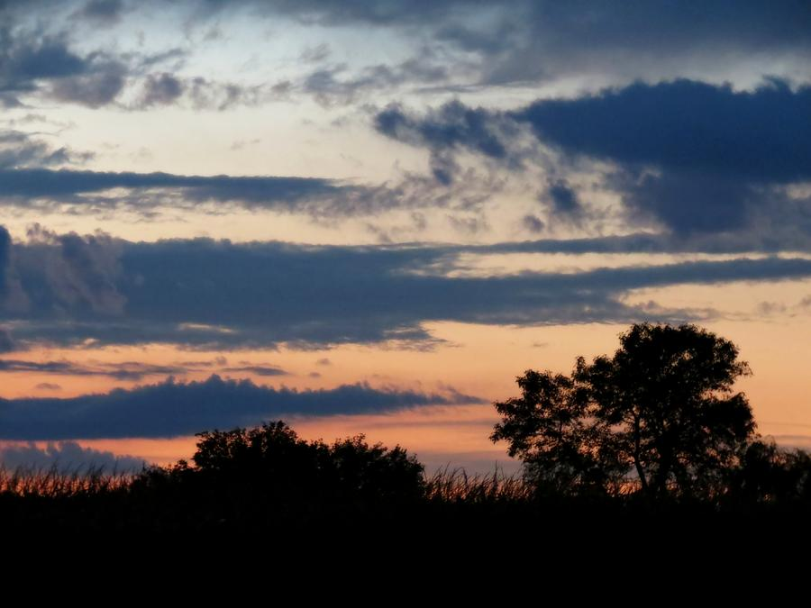 Sky Photograph - Quiet Thoughts by Kyle West