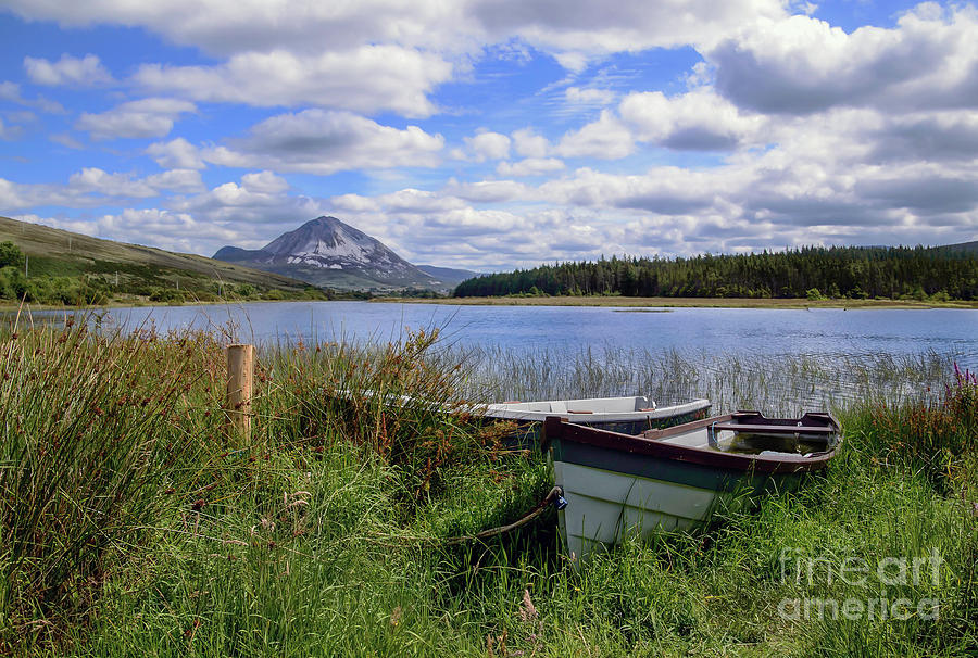 Quiet time in Gweedore by Julie Chambers