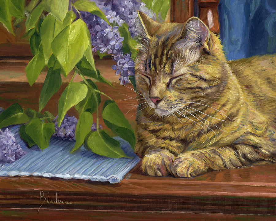 Quiet Time by Lucie Bilodeau