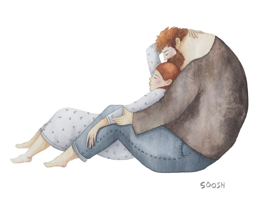 Bysoosh Painting - Quiet Time by Soosh