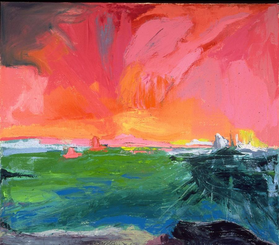 Quiet Turmoil 1990 by Carla Dreams