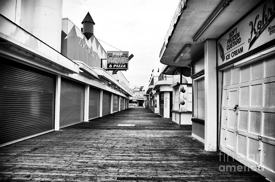 Walk Photograph - Quiet Walk by John Rizzuto