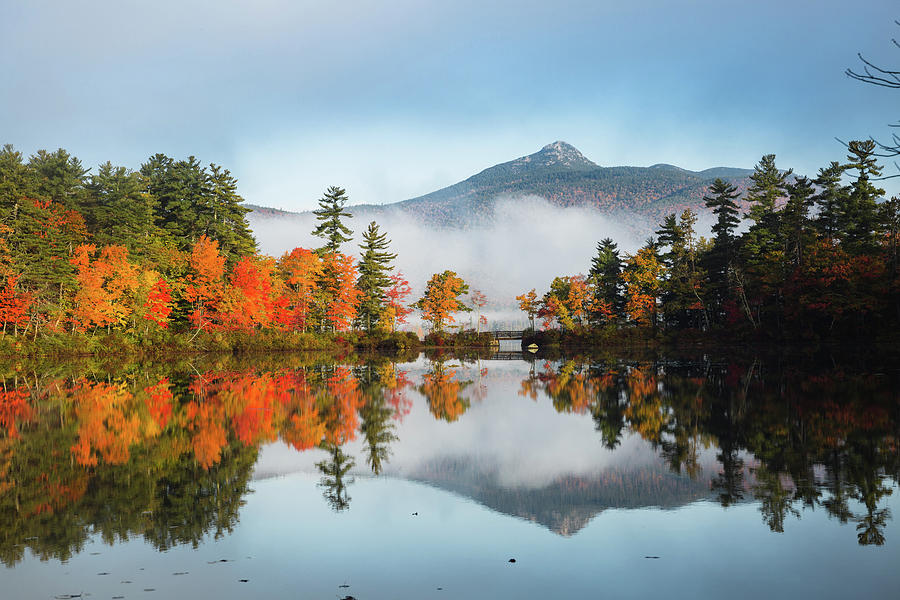 Mount Chocorua Fall Reflection by Robert Clifford