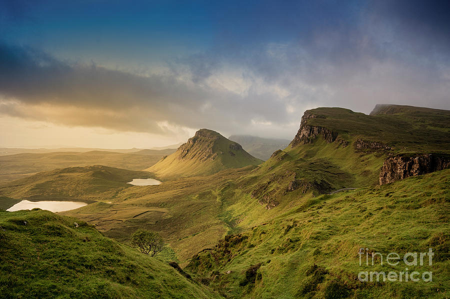 Quiraing Landscape 5 by David Lichtneker