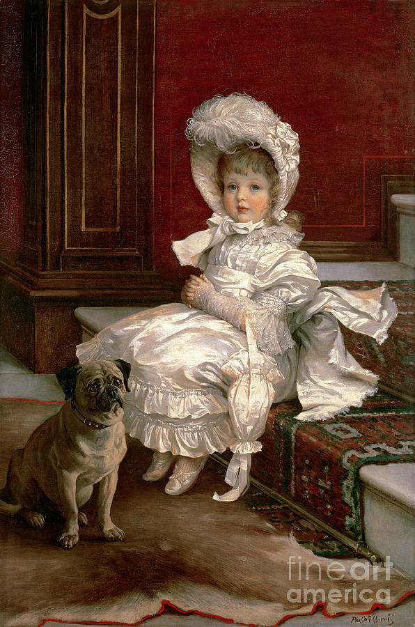 Quite Ready (oil On Canvas) By Philip Richard Morris (1838-1902) Painting - Quite Ready by Philip Richard Morris