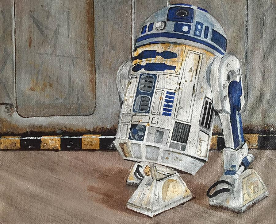 R2d2 Painting by Helen Kuhn