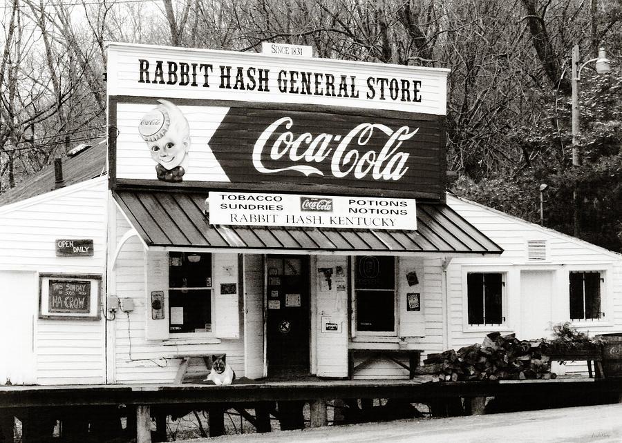 Rabbit Hash General Store Photograph - Rabbit Hash General Store- Photogaphy By Linda Woods by Linda Woods