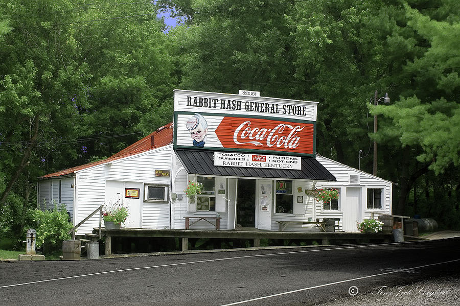 Rabbit Hash General Store Photograph - Rabbit Hash by Tony Gayhart
