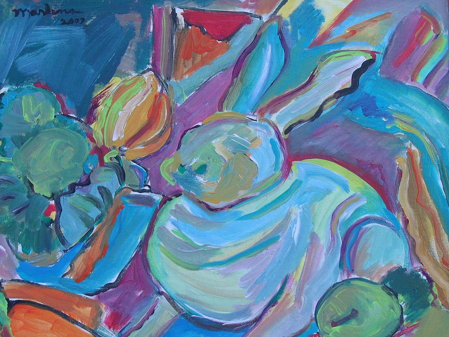 Rabbit Painting - Rabbit by Marlene Robbins