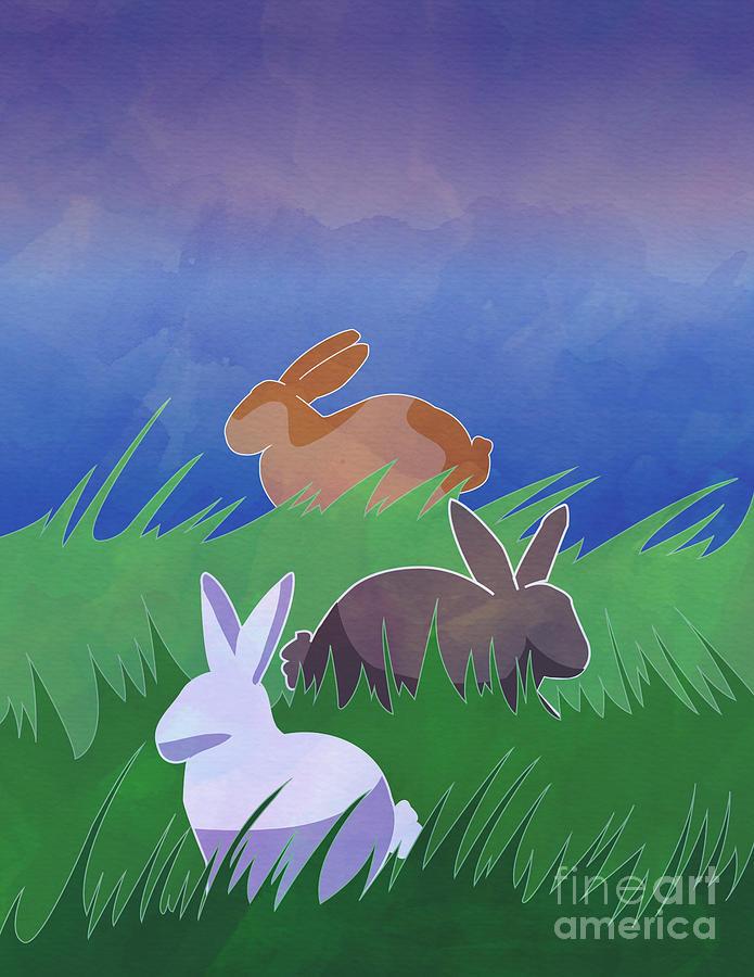 Rabbits Rabbits Rabbits by Whitney Morton