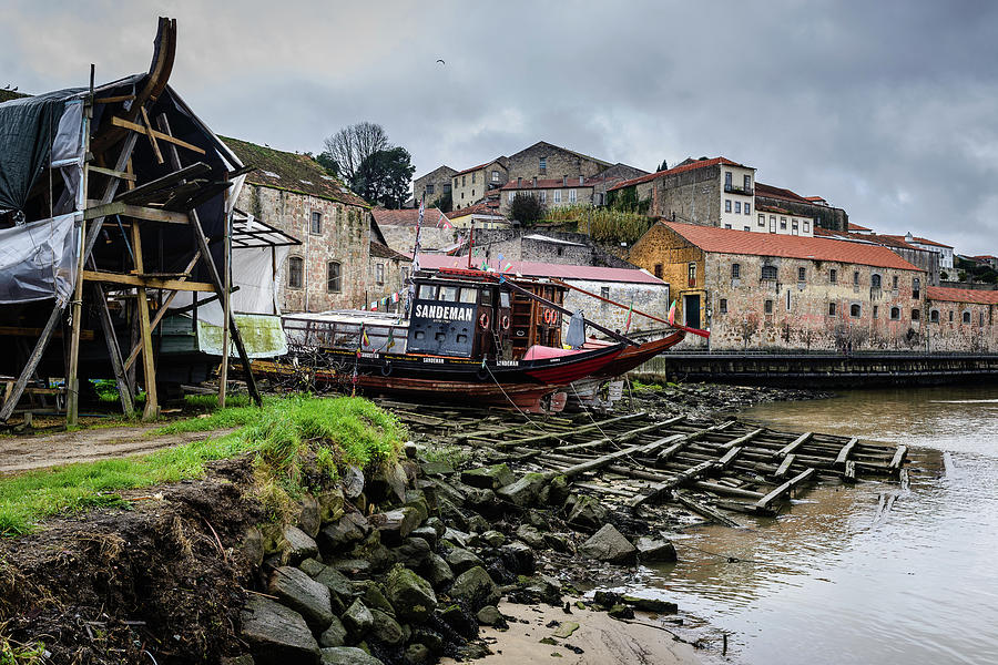 Rabelo Boats At The Dock Photograph