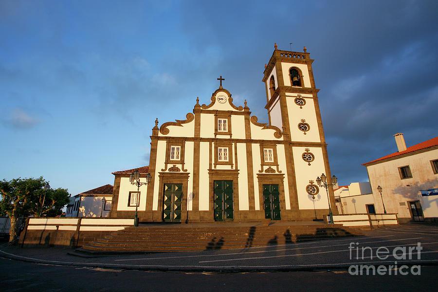 Azores Photograph - Rabo De Peixe Church by Gaspar Avila